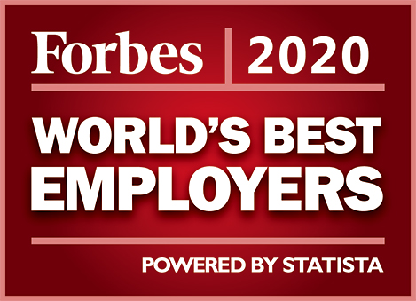 Logo - Forbes WORLD'S BEST EMPLOYERS 2020